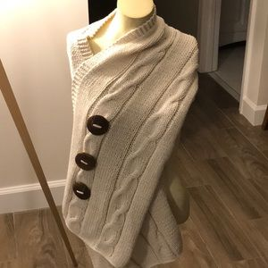 Pure Handknit Shawl/Shrug One Size